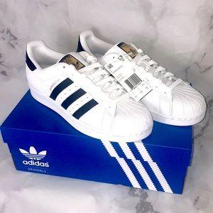 NEW Adidas superstar W white original